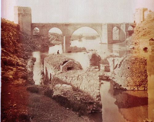 Puente de San Martín, Toledo, en el siglo XIX