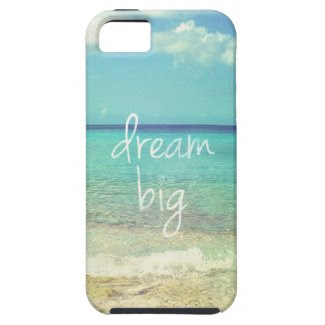 Dream big iPhone 5 cover
