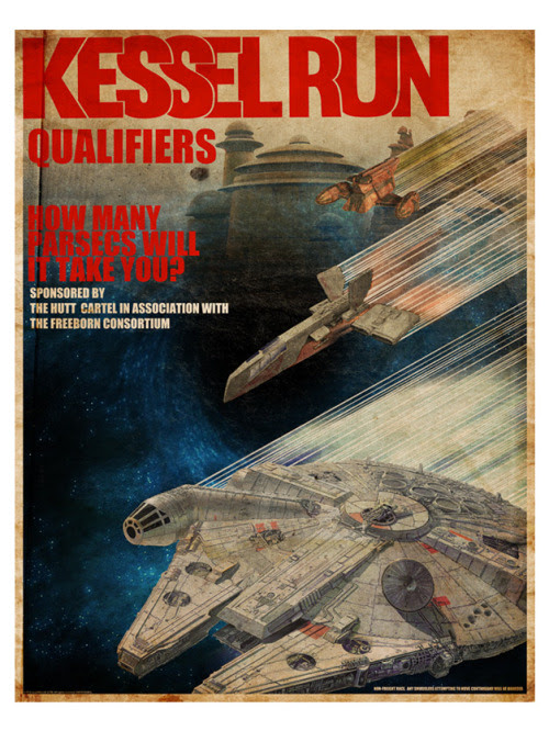Kessel Run Qualifiers by Louis Solis