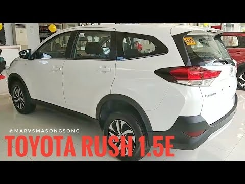 VIDEO: 2018 Toyota RUSH 1.5E (Philippines) - Features & Specs