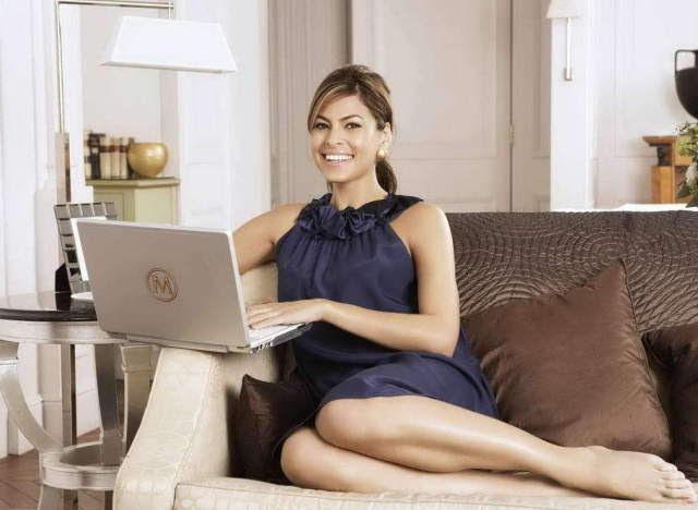 Eva Mendes Inspires Us To Go For Contemporary, Clean Home Decor (