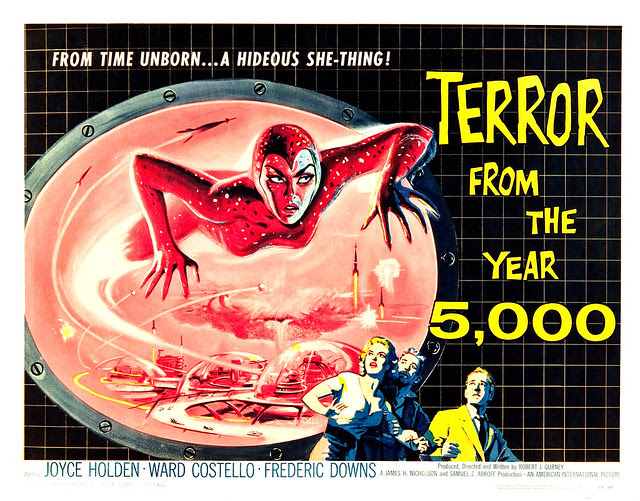Albert Kallis - Terror from the Year 5000 (American International, 1958) Half Sheet