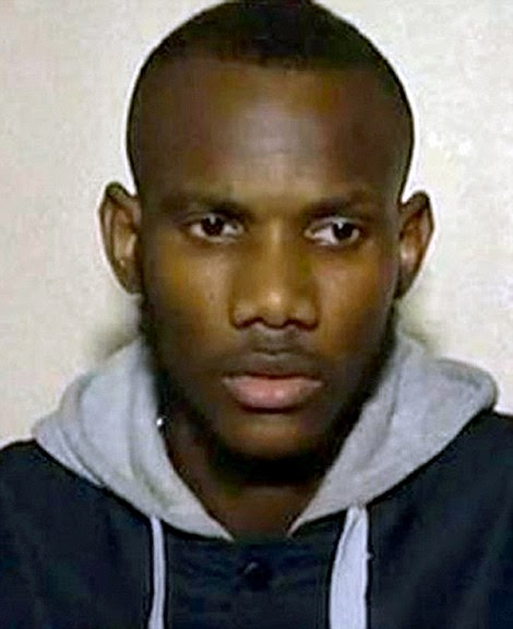 Lassana Bathily (pictured) put his own life at risk to protect people from Islamic fanatic Amedy Coulibaly
