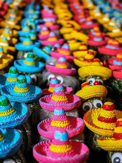 Free photo: Cactus, Mexico, Hats, Colorful   Free Image on