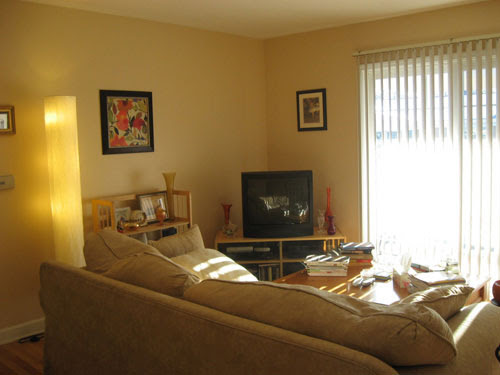 This Spicy & Exotic Living Room Makeover Is Full Of Amber, Sage ...