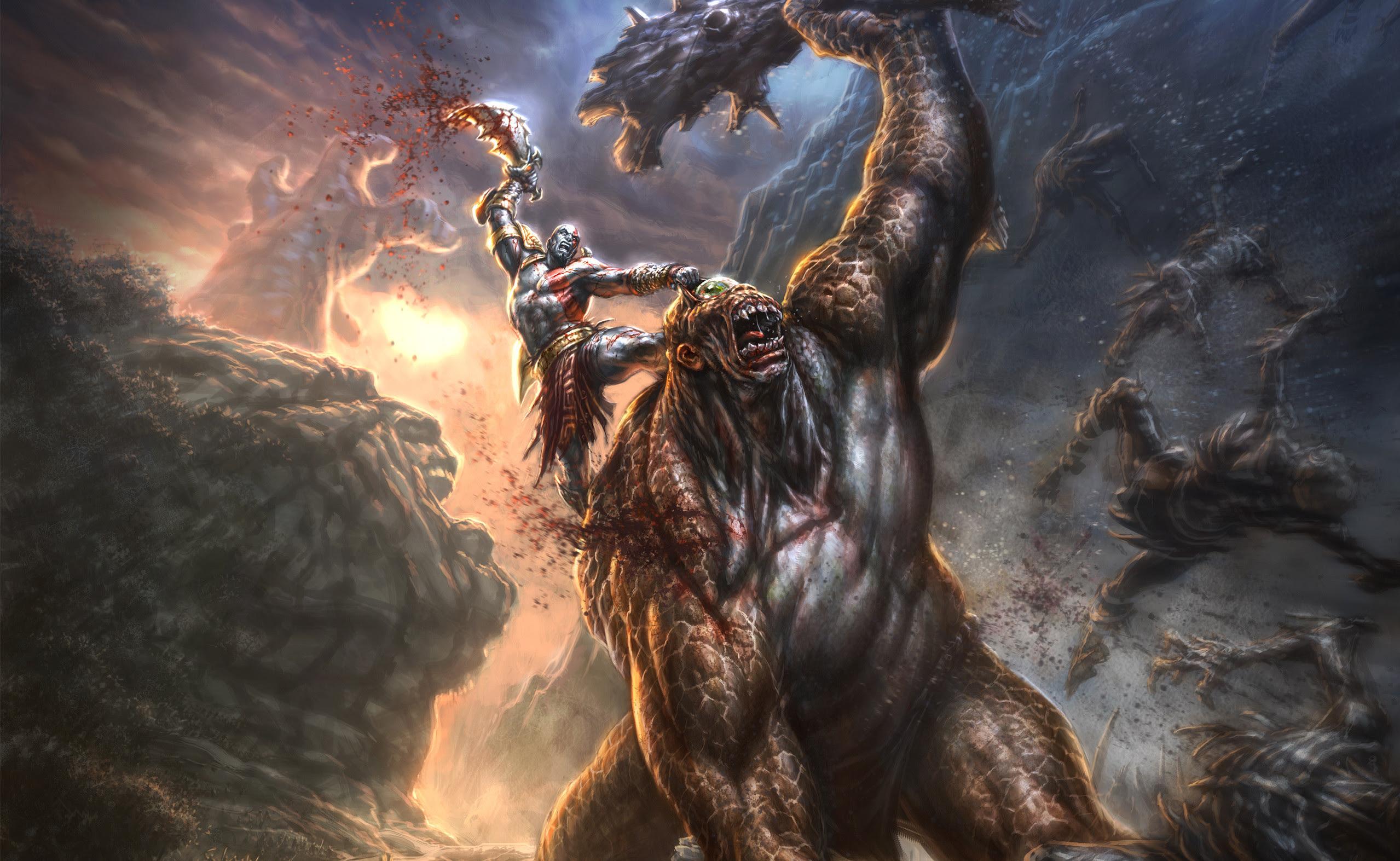 God Of War 4k Wallpaper 69 Images