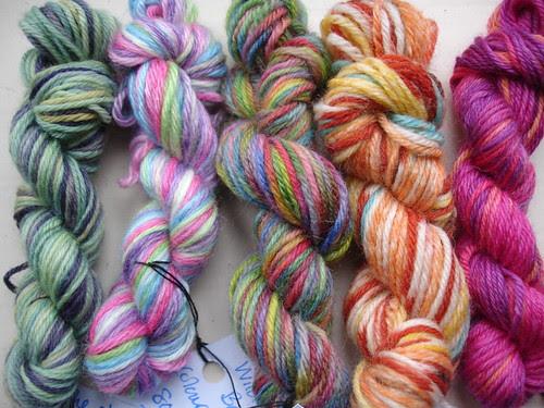 sock yarn mini skein swap 002
