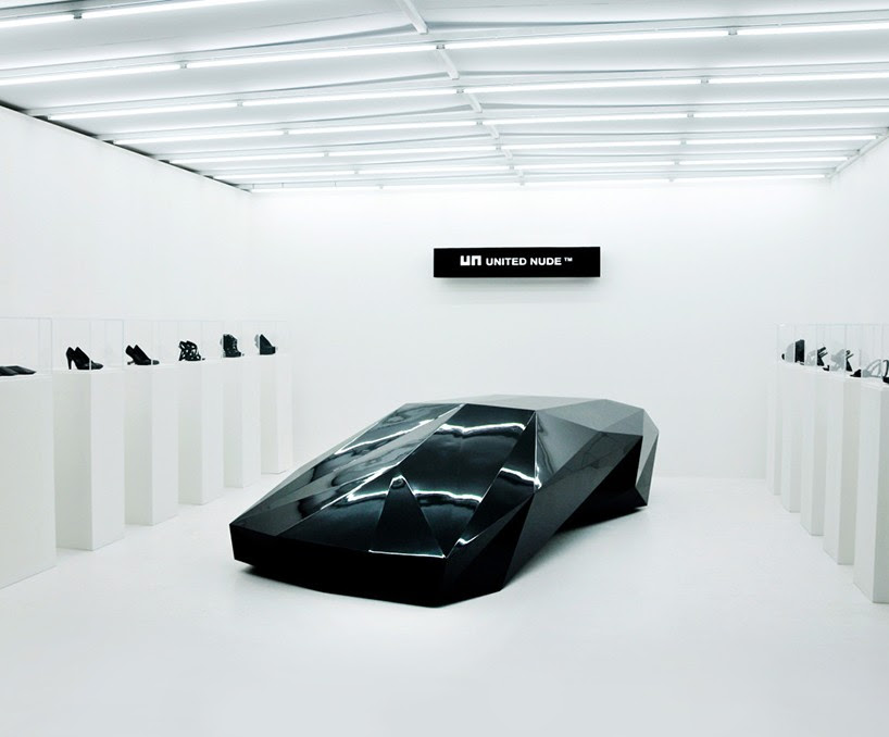 united nude challenges conventional vehicle forms with lo res car