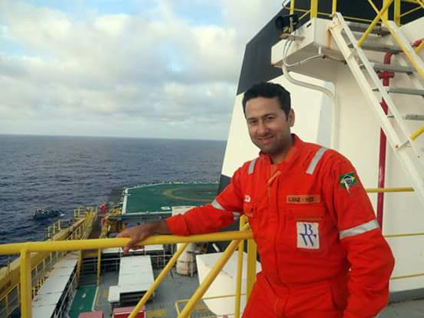 Mossoroense, Luiz Cláudio Nogueira, de 43 anos, trabalhava como técnico de segurança na BW Offshore (Foto: Arquivo familiar)