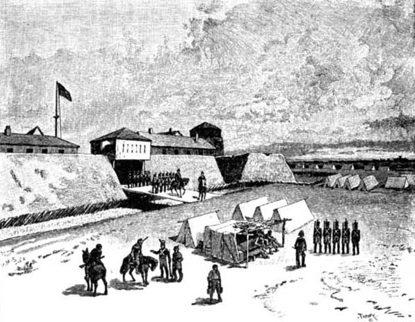 FORT DETROIT IN 1812