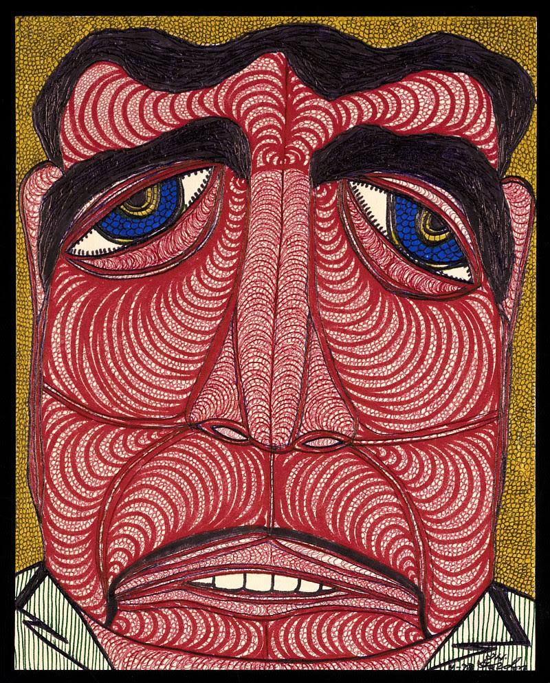 Le visage dans l'Art Brut