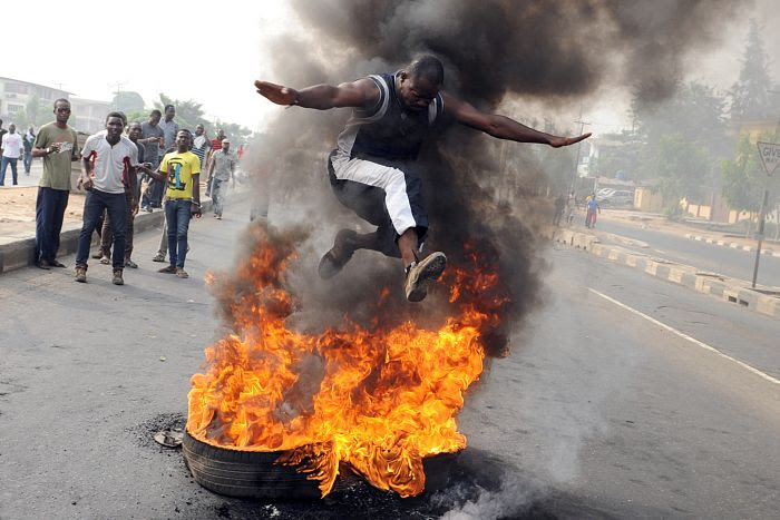 Nigerian oil protests