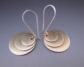 Saturn Disk Earrings