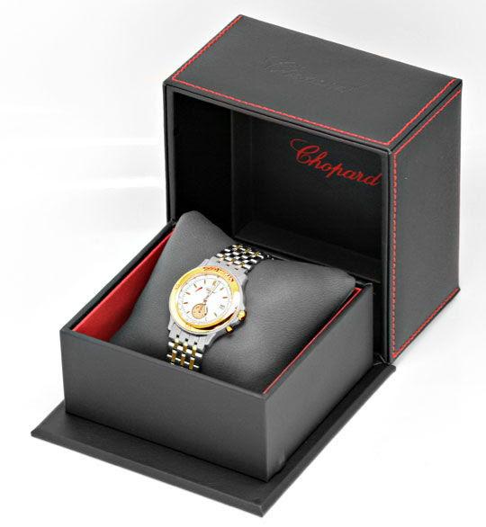 Foto 6, Chopard Mille Miglia Chronograph, Stahl-Gold-Uhr Topuhr, U1443