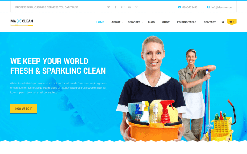 Max Clean and Movers