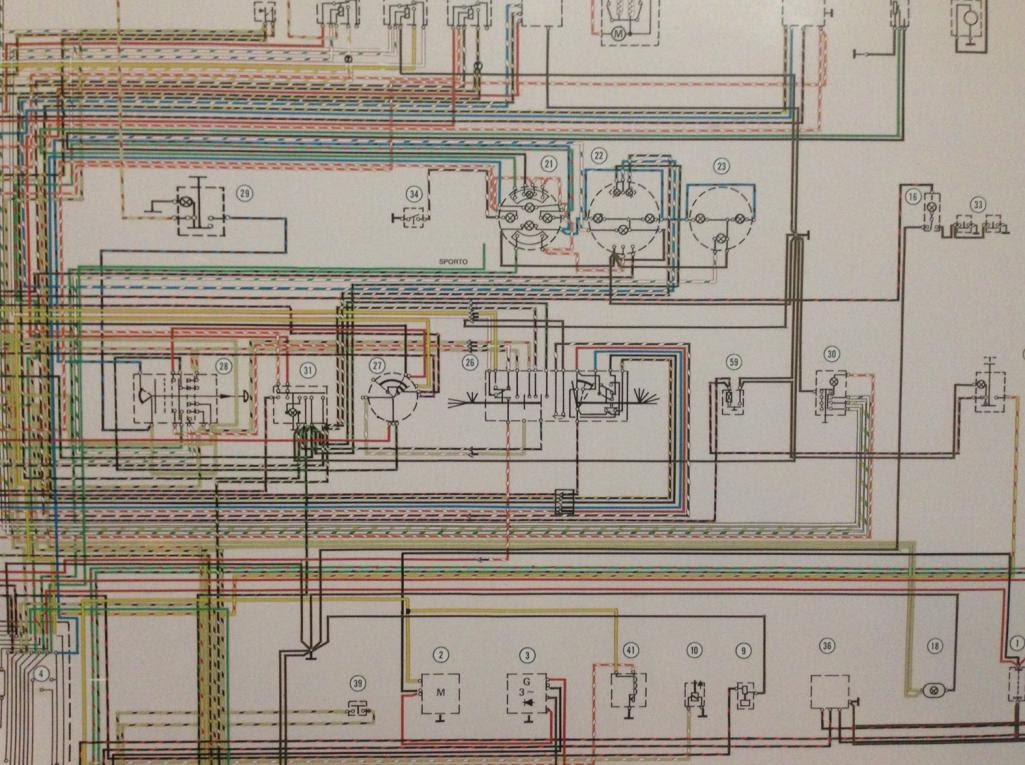 1974 Porsche Wiring Diagram