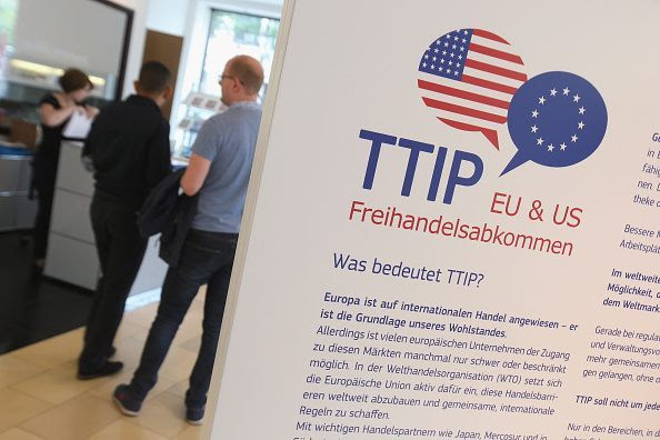 Why are TTIP Documents Held In A Locked Room.