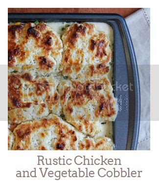 """""""Rustic Chicken and Vegetable Cobbler"""""""