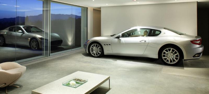 Resultado de imagem para garagens de luxo