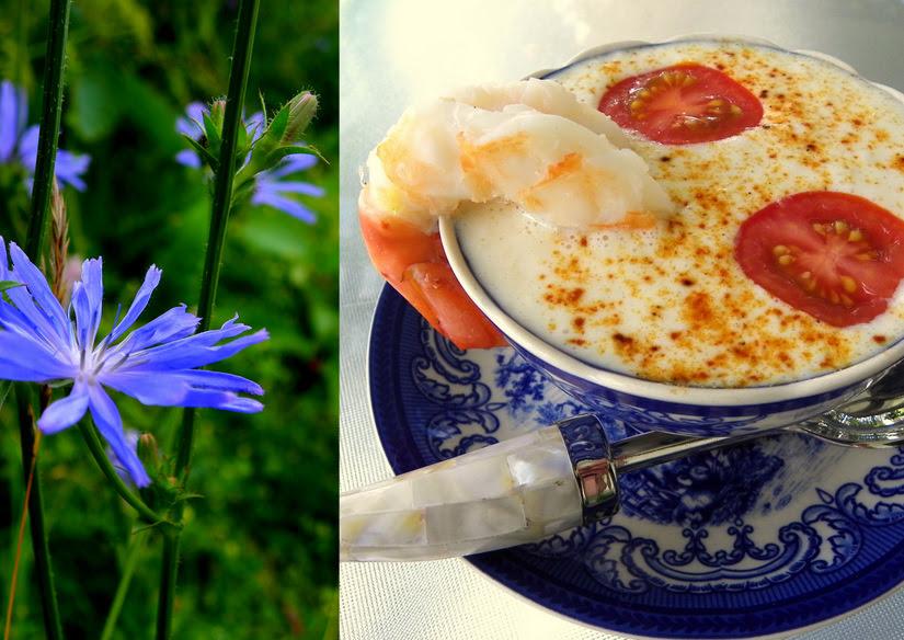 Cold Corn And Shrimp Soup