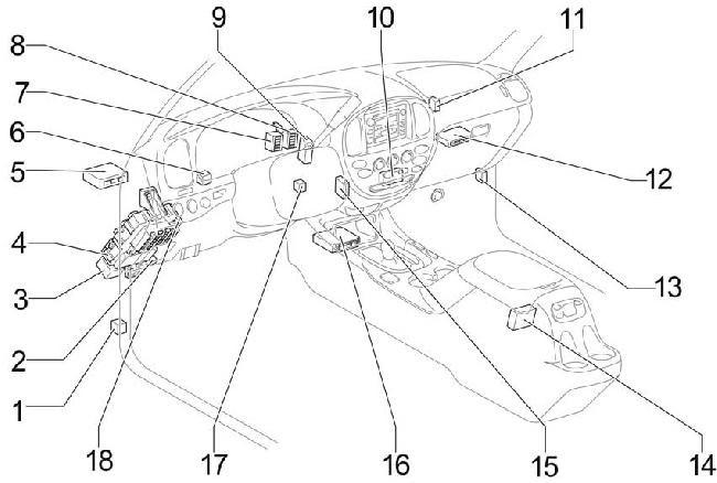 04 06 Toyota Tundra Double Cab Fuse Diagram
