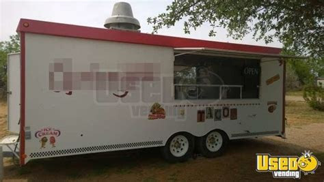 texas concession trailer  sale fully stocked loaded