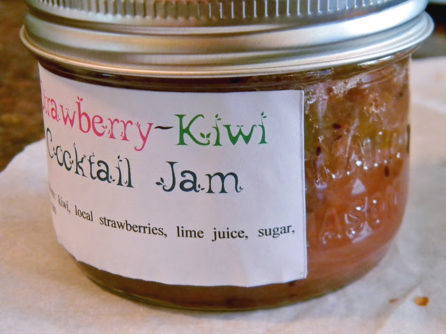 Strawberry-Kiwi Cocktail Jam