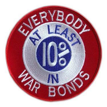 Detroit War Bonds patch