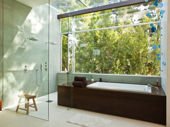 25 Transparent Bathrooms That Cure Your Shyness | DesignRulz