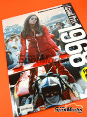 Libro  Model Factory Hiro - Joe Honda Racing Pictorial Series: Grand Prix 1968, parte 1  1968
