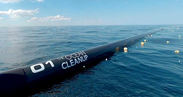 Ocean Clean Up Started The Last Day And By 2040 It Will Clean The Ocean 90%