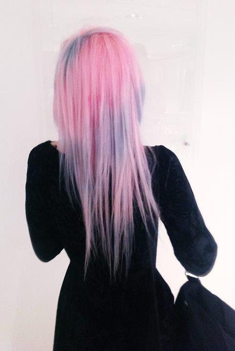 angelaankh:  Pink with lilac hair