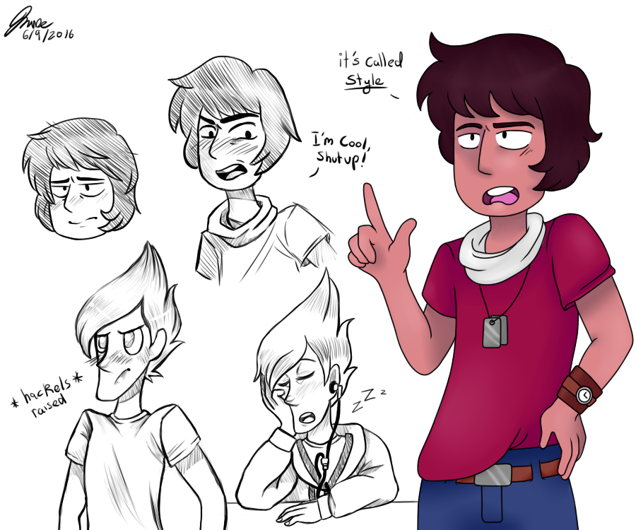 here are some of my Steven universe sketches, Old and new. One day I will remember to post my art consistently ¯\_(ツ)_/¯