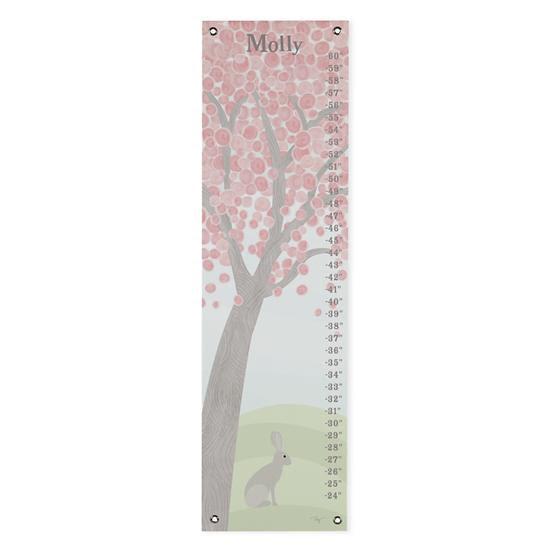 Pastel Tree Growth Chart