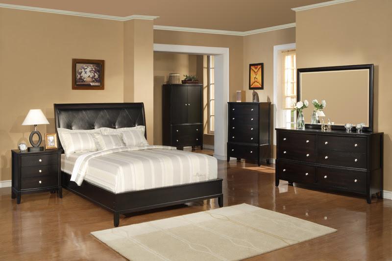 Olean Espresso Bedroom Set | Von Furniture