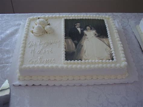 anniversary sheet cakes   Cakes by Barbara   Anniversarys