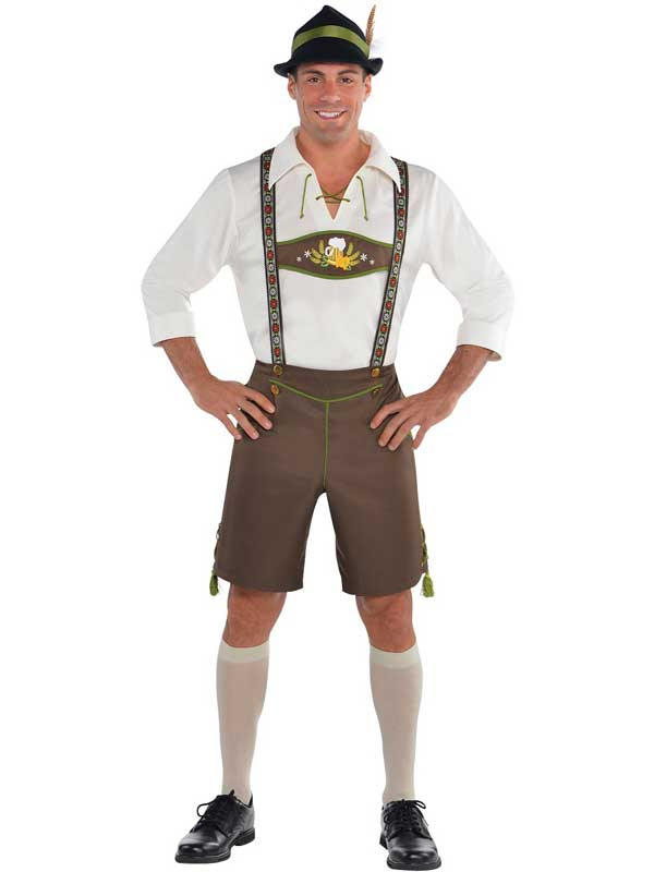 mens oktoberfest bavarian beer german lederhosen fancy