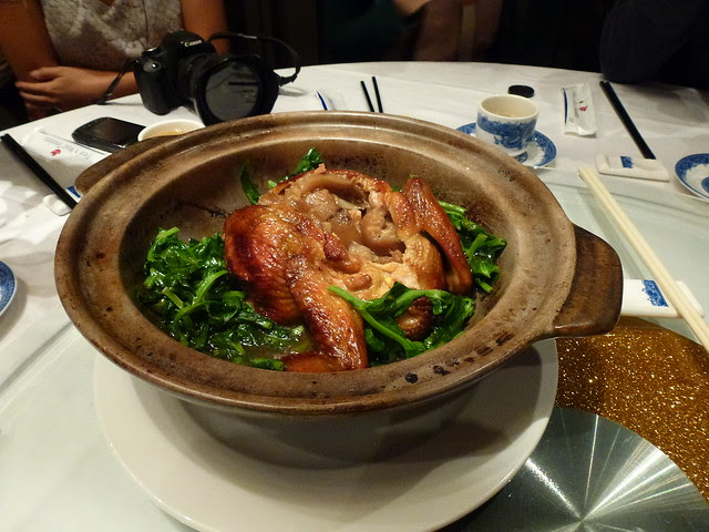 Chicken with Sea Cucumber 3