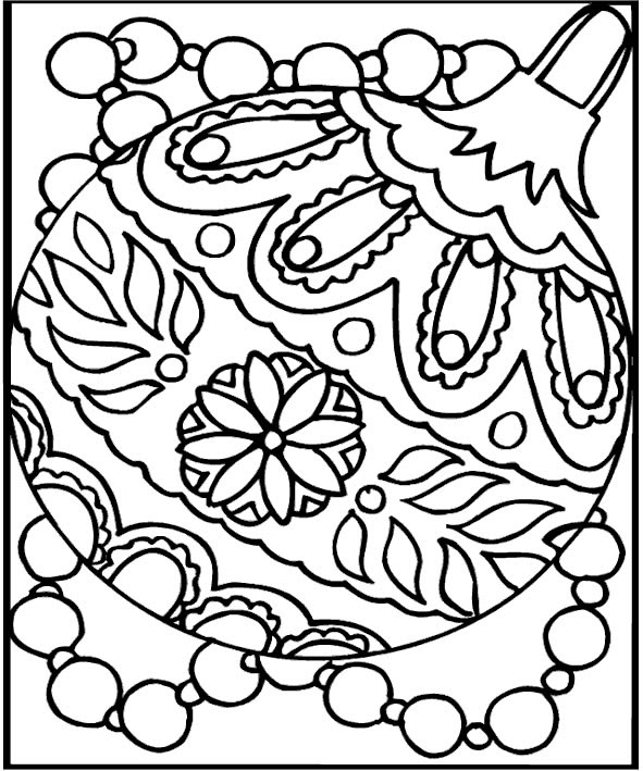 Print Free Printable Christmas Coloring Pages For Kids