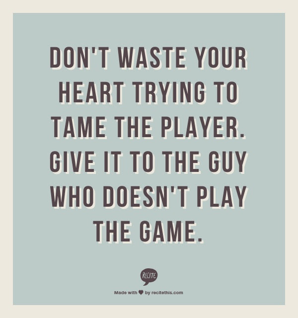 Quotes About Liking A Player 20 Quotes
