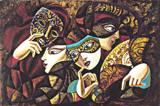 Masquerade Ball, Made by Borisoff