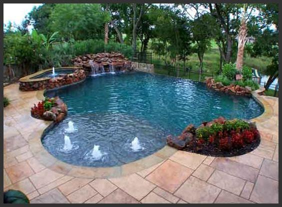 Back Yard Swimming Pool Ideas