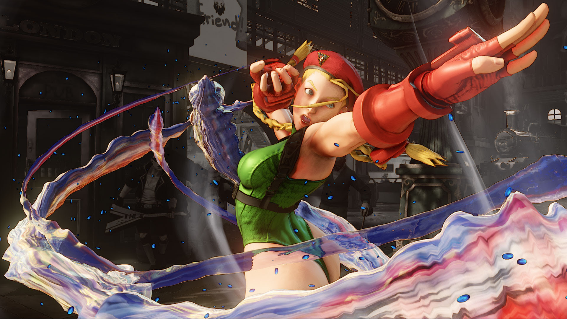 ESPN had an EVO finalist change Cammy's revealing outfit for broadcast screenshot