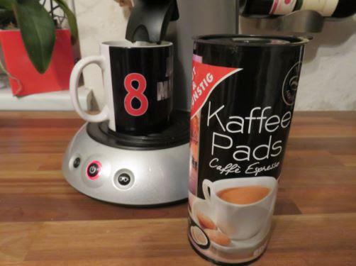 Gut und günstig Caffe`Espresso - aus Kaffee Pads mehr ...