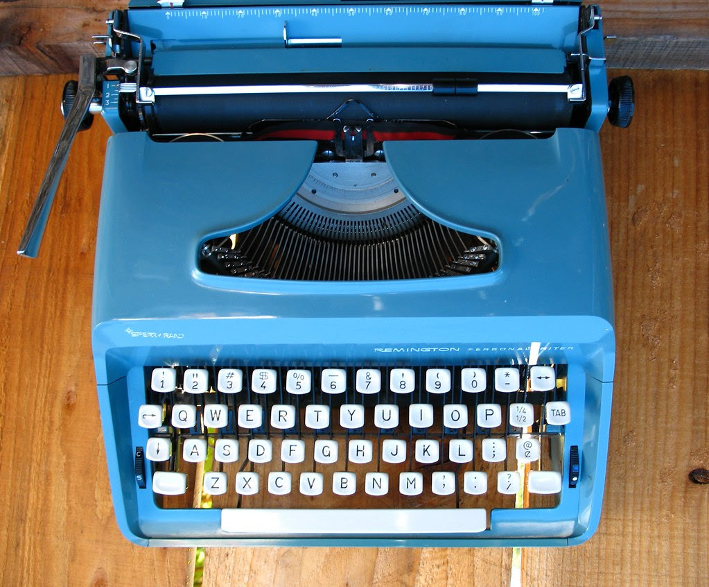 """Sperry-Rand Remington Personal Writer c1960's? """"Babs"""""""