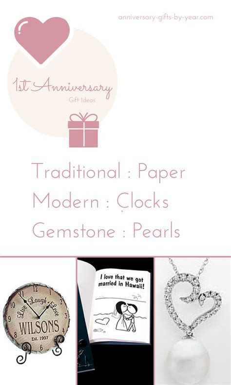 Best 1st Wedding Anniversary Gifts   Anniversary gifts