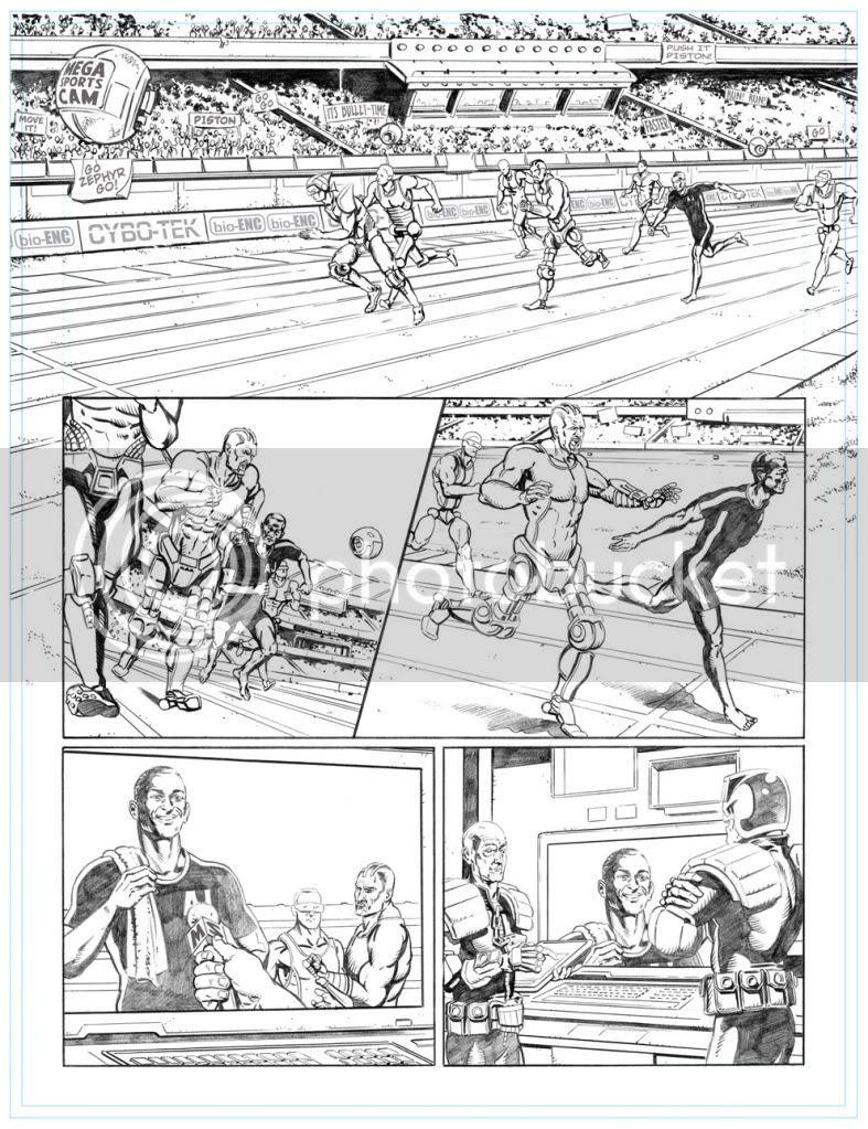Graeme Neil Reid,Illustration,Judge Dredd