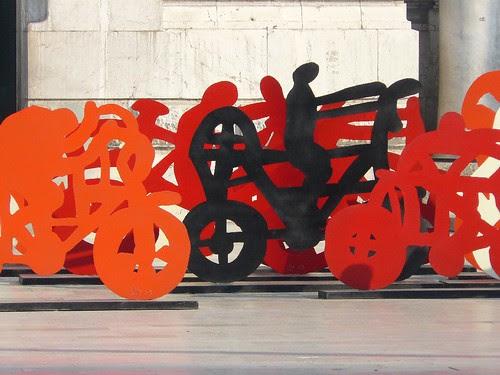 visiting Mexico city: las bicicletas