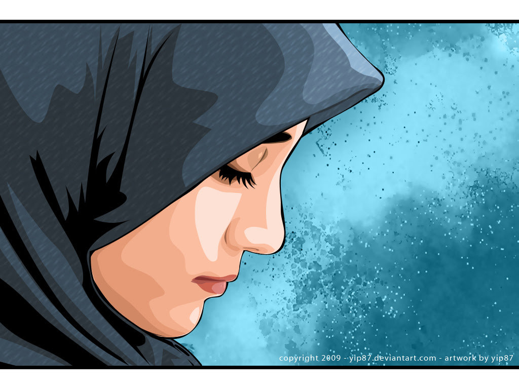 Kumpulan Gambar Dp Bbm Wanita Muslimah Menangis Pos DP BBM