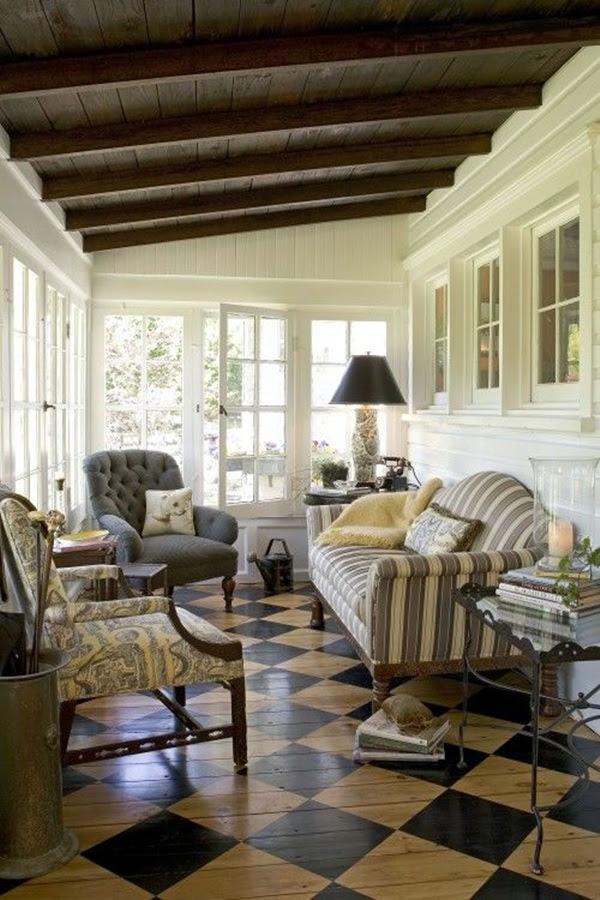 Creative Wood Floor Paint Decoration Art Works (22)